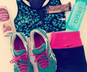 active, nike, and sport image