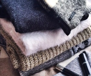 fashion, sweater, and warm image