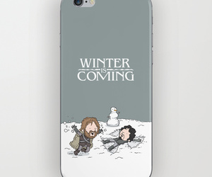 winter is coming, gift ideas, and phone case image