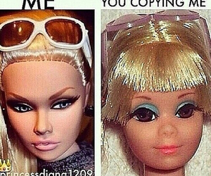 funny, barbie, and bitch image