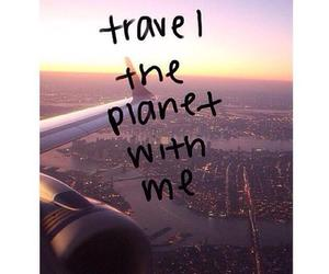 travel, planet, and love image