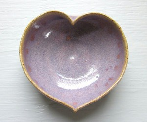 heart, lavender, and pottery image