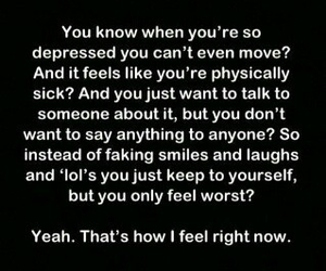 feelings, demons, and depression image