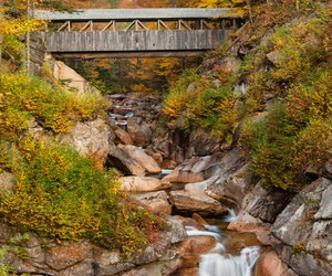 fall, flume, and New Hampshire image