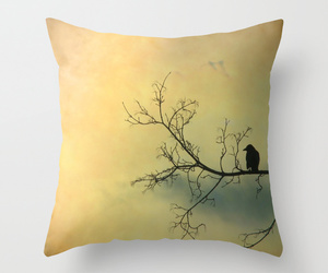 bed, bird, and home image