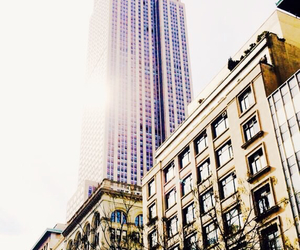 big apple, empire state building, and ny image