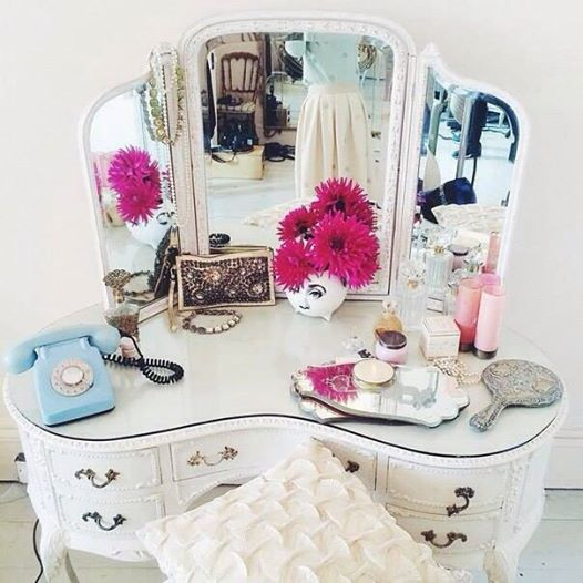 girly, mirror, and luxury image
