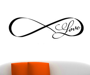 bedroom, home decor, and infinity image