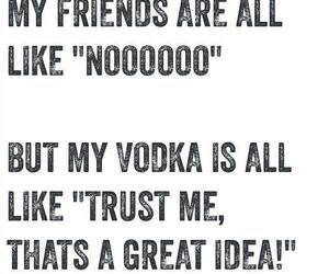drink, quotes, and friends image
