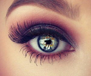 eyes, makeup, and eye image