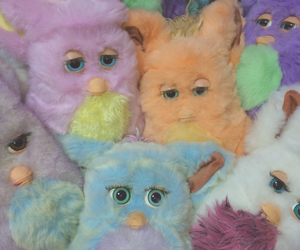 toys, blue, and furby image