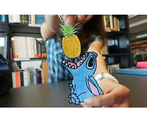 ananas and stitch image