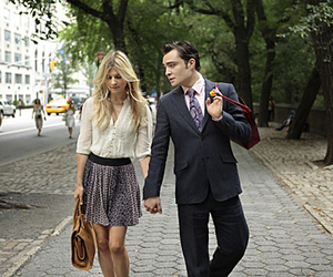 chuck, love, and gossip girl image