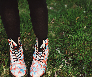 shoes, pretty, and grass image