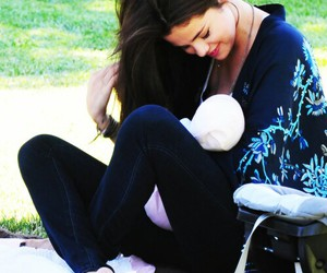 selena gomez, baby, and smile image