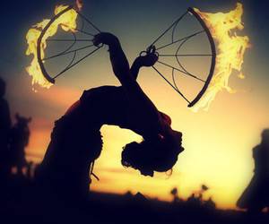 fire and dance image