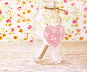 love, cute, and pink image
