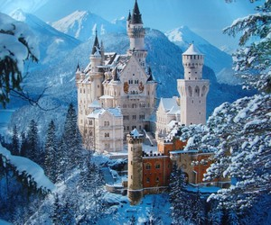 germany, snow, and snowy image