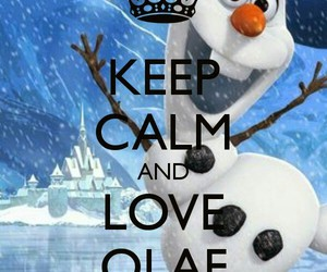 frozen, olaf, and cute image