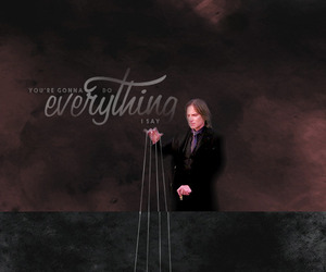 once upon a time, captain hook, and rumplestiltskin image