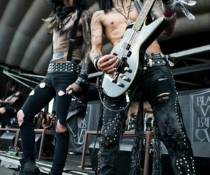 black veil brides, andy biersack, and ashley purdy image