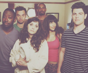 new girl, cece, and coach image