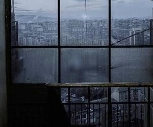 city, grunge, and window image