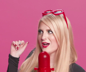 music video, meghan trainor, and lips are movin image