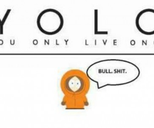 yolo, South park, and kenny image
