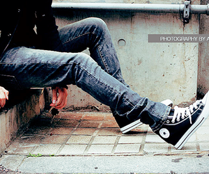 converse, shoes, and boy image
