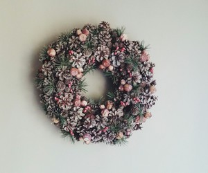 christmas, decorations, and holidays image