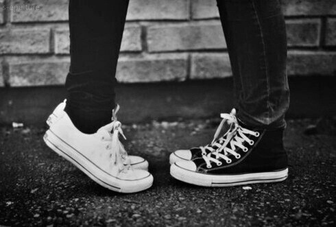 Converse shared by eses on We Heart It