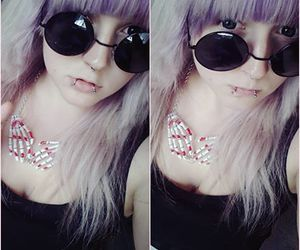 snakebites, pastelgoth, and cute image