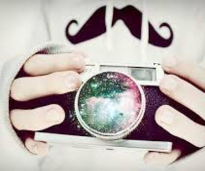 camera, moustache, and tumblr image