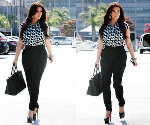 kim kardashian and outfit image