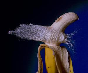 banana, bullet, and cool image