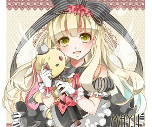 mayu, vocaloid, and cute image