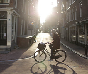 amsterdam, bike, and dutch image
