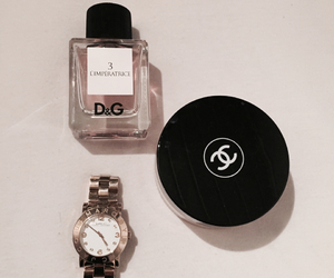 chanel, D&G, and watch image