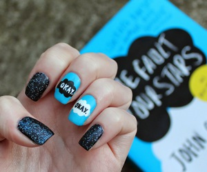nails, okay, and book image
