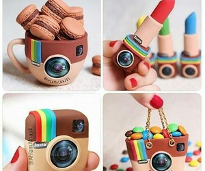 instagram, lipstick, and food image