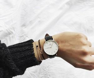 watch, bracelet, and daniel wellington image