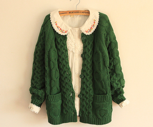 clothes, green, and style image