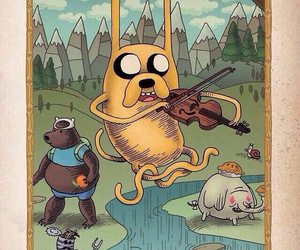 adventure time and JAKe image
