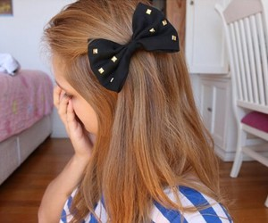 bows, dots, and hair image