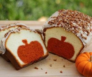 cake, pumpkin, and food image