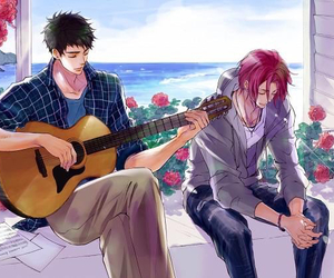 free!, anime, and sousuke image