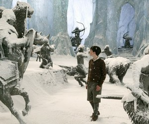 ice, narnia, and snow image