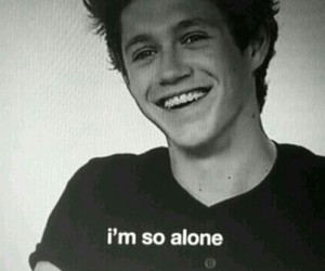 niall horan, alone, and one direction image