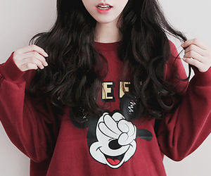 kfashion and mickey mouse image